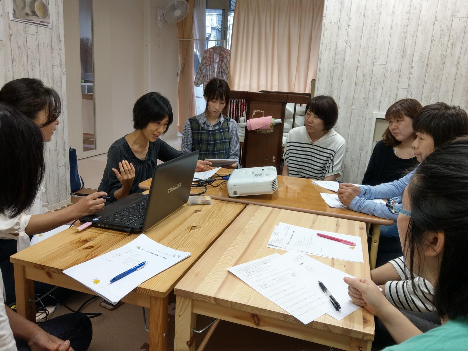 6月15日(土)にて小規模保育所職員勉強会を開催致しました。